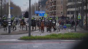Corona-Krawalle in den Niederlanden
